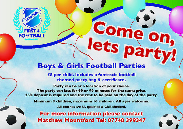 football parties